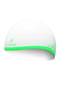 Dome Cap - White/Green