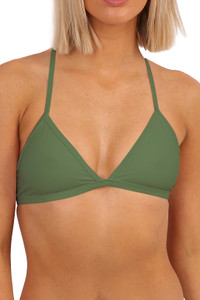 Triangle Top - Army Green