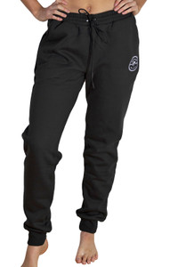 Black Track Pant - Medallion