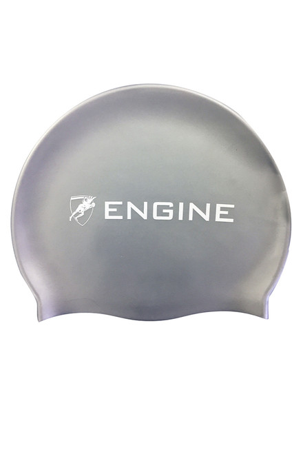 Solid Silicone Cap - Silver
