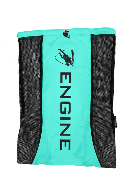 Mesh Backpack - Turquoise
