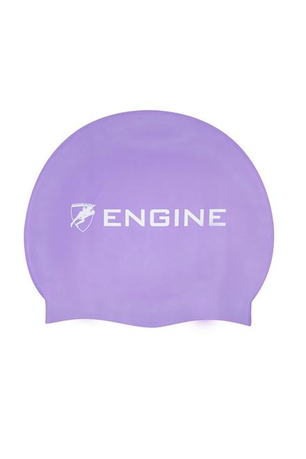 Solid Silicone Cap - Purple