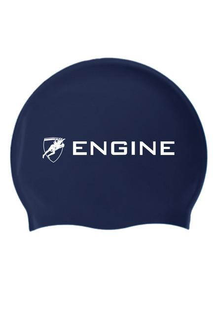 Solid Silicone Cap - Navy