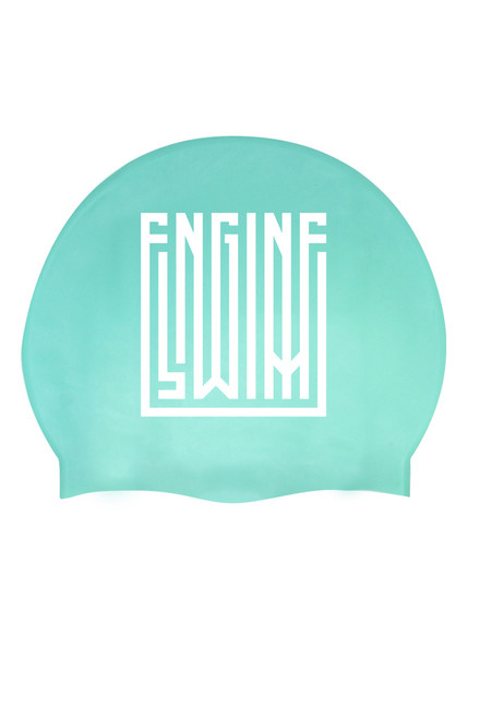 Solid Silicone Cap Lane Lines - Turquoise