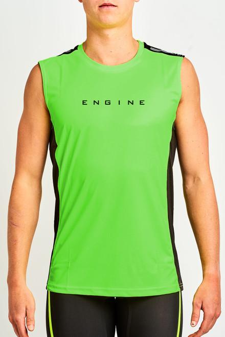 Hi Vis Tank - Green