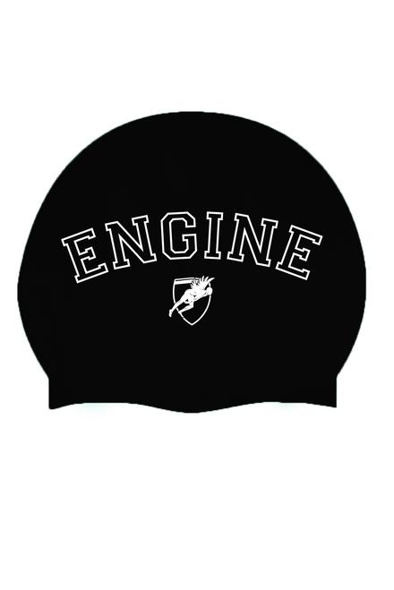 Solid Silicone Cap Varsity - Black