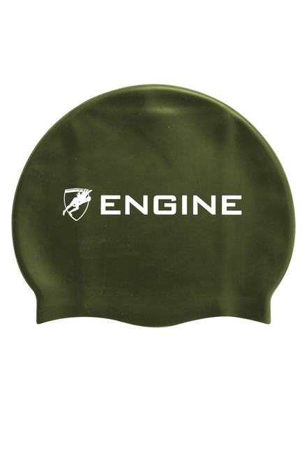 Solid Silicone Cap Army Metallic