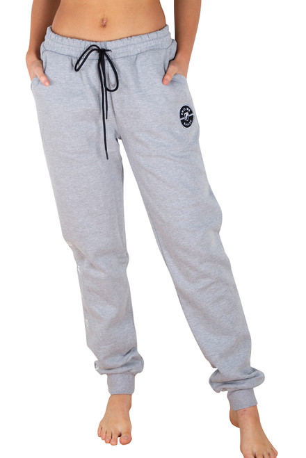Grey Track Pant - Medallion