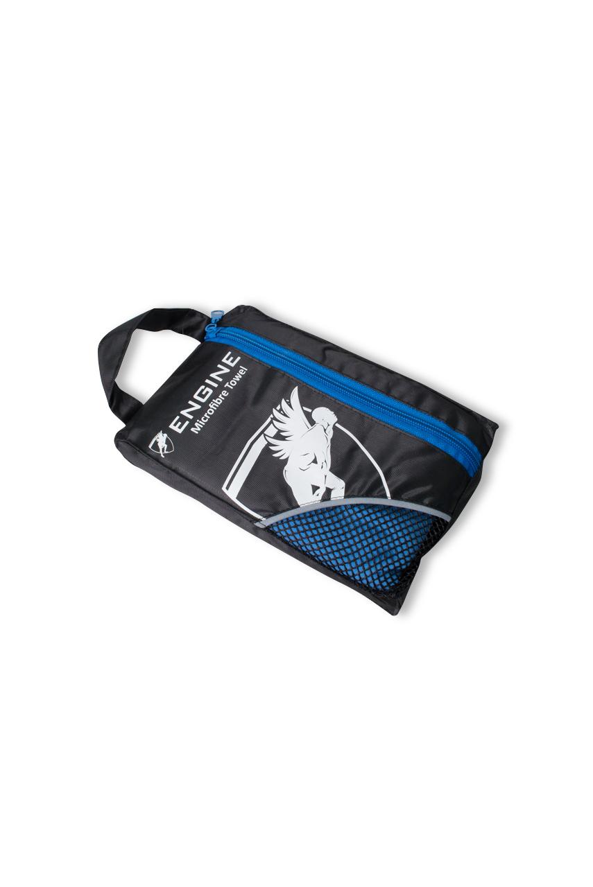 Swim and Gym Micro Towel - Blue