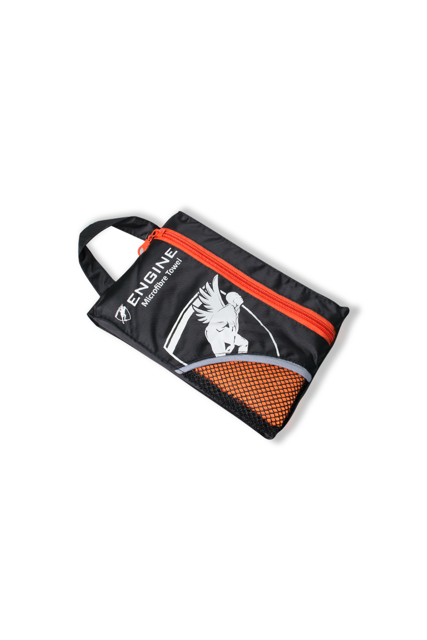 Swim and Gym Micro Towel - Orange