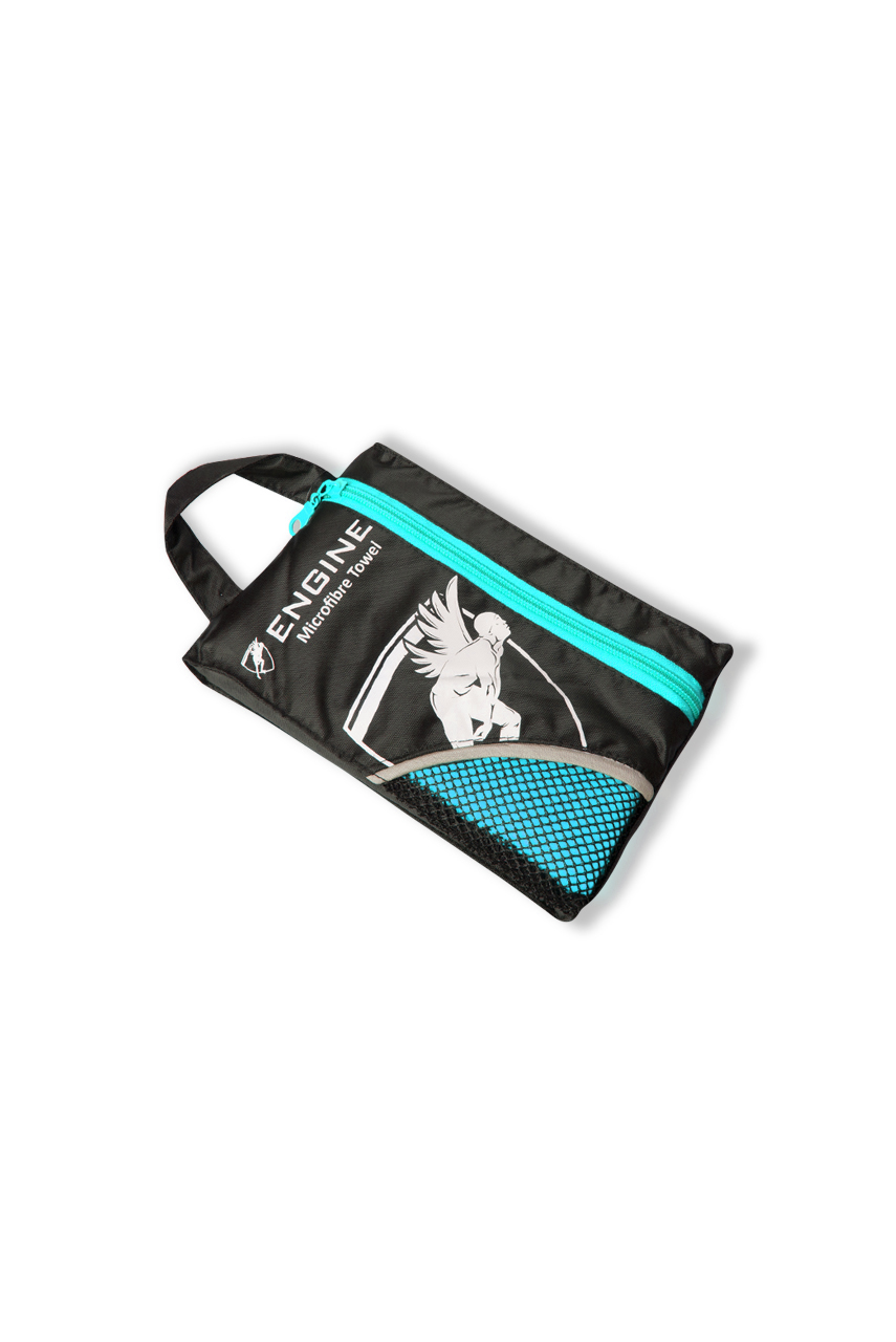 Swim and Gym Micro Towel - Turquoise
