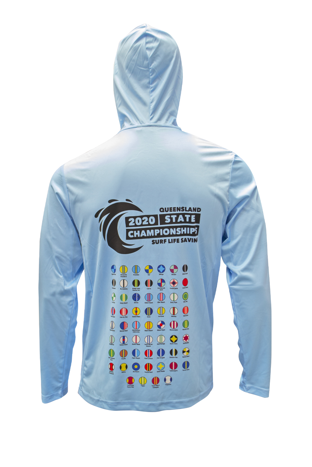 SLSQ 2020 State Championships Hooded L/S Sun Protection Shirt