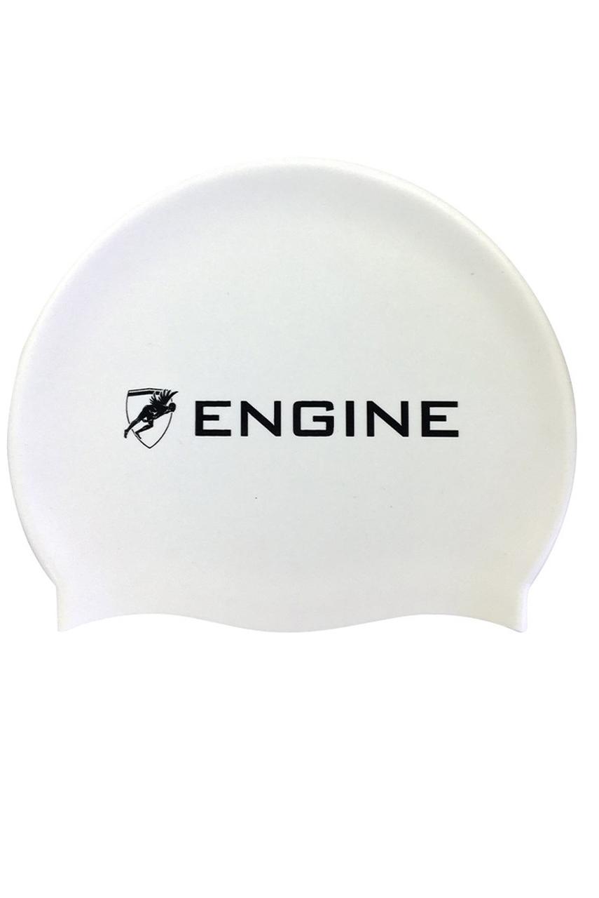 Engine Solid Navy Swim Cap Swimming Cap Silicone Swim Cap
