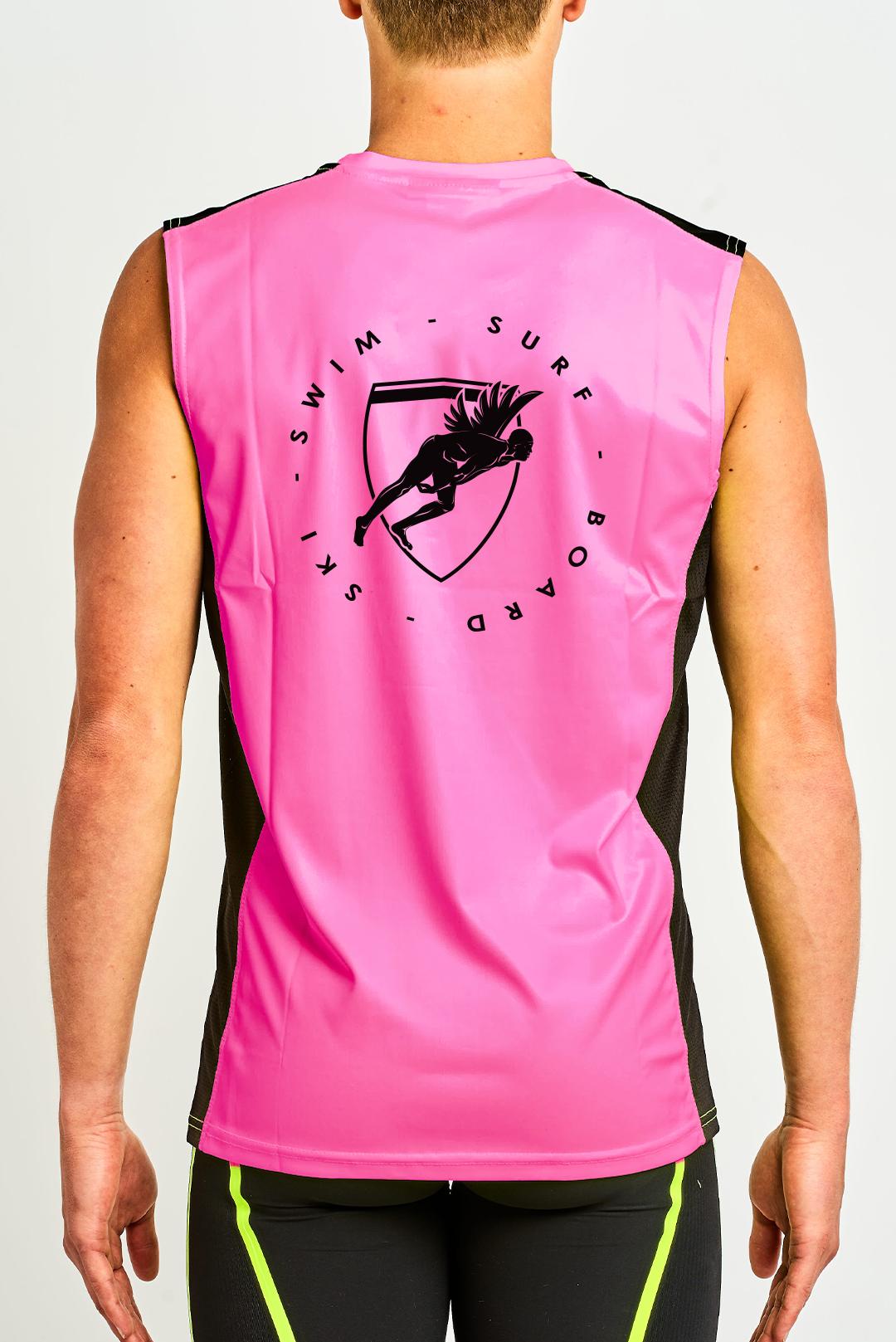 Hi Vis Tank - Pink