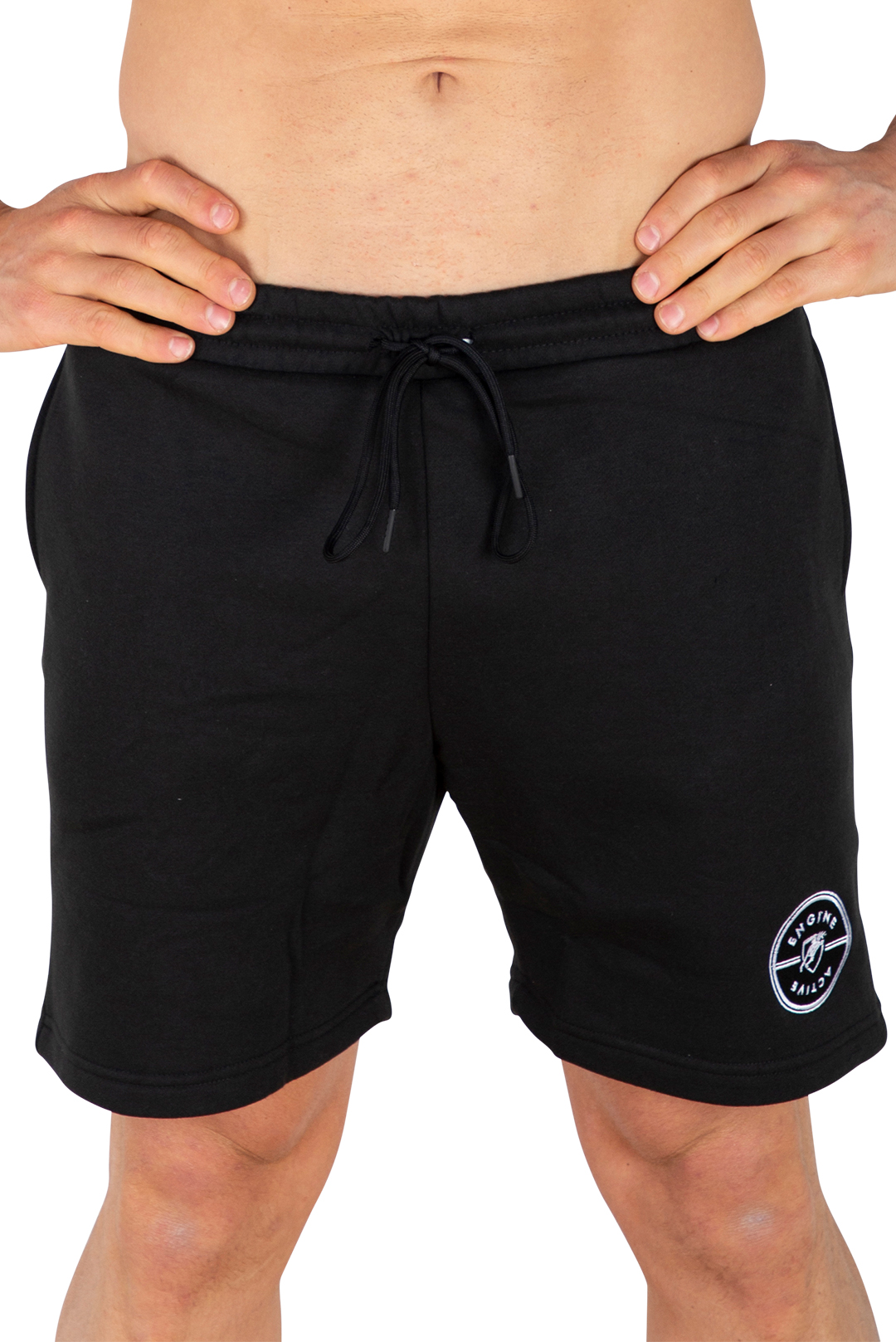 Black Track Short - Medallion