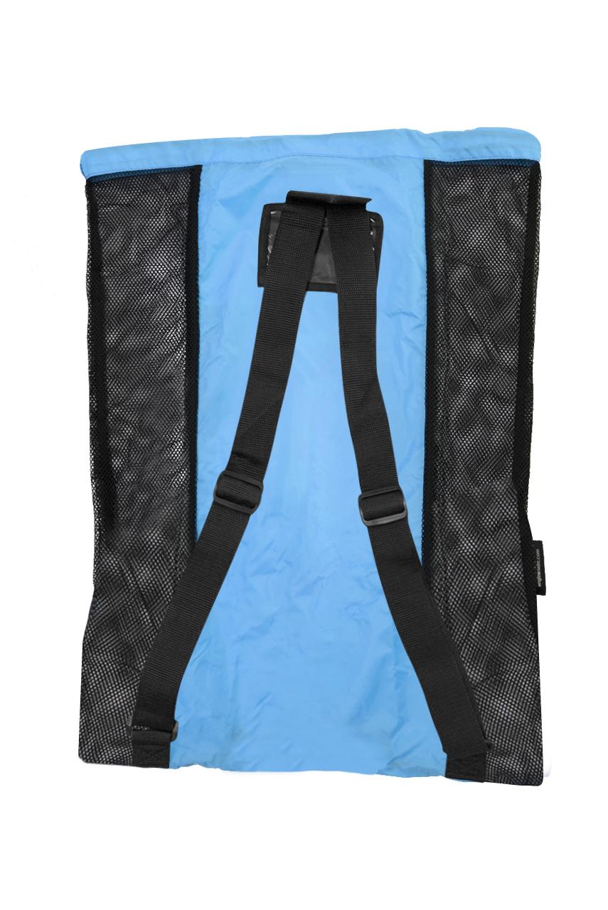 Mesh Backpack - Blue