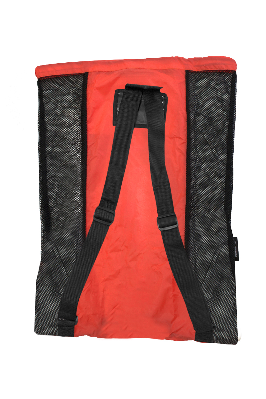 Mesh Backpack - Red
