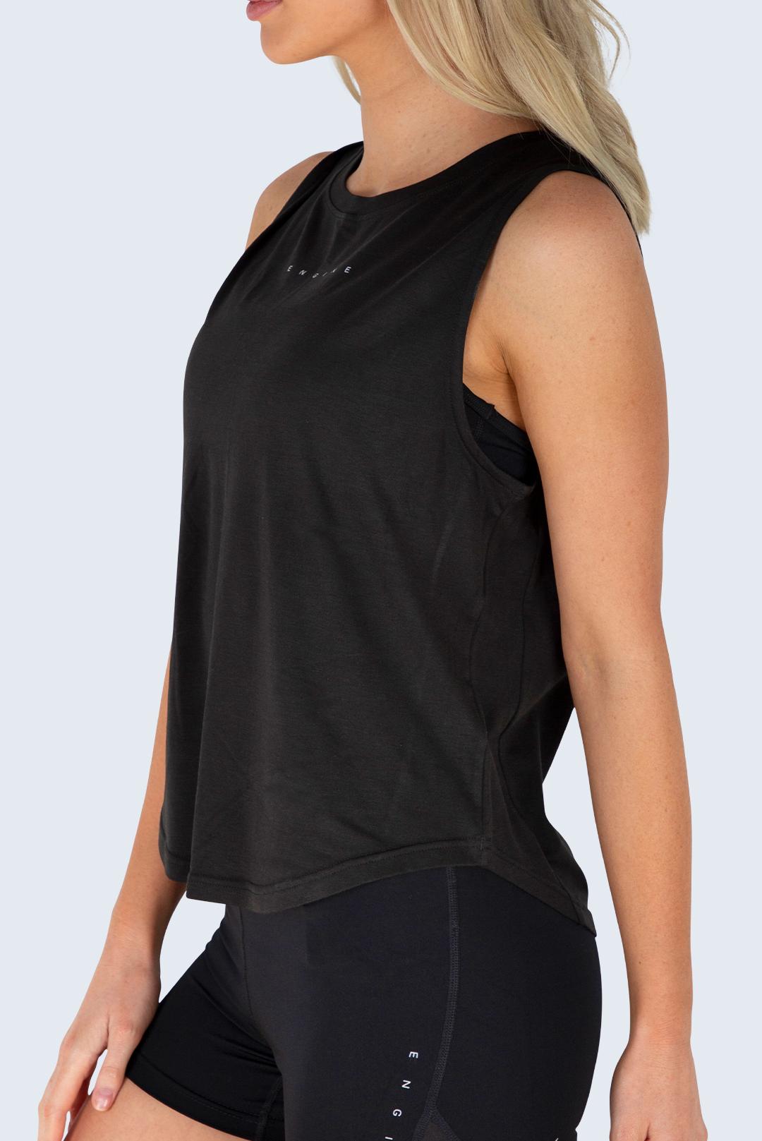 Women's Classic Muscle Tank - Black