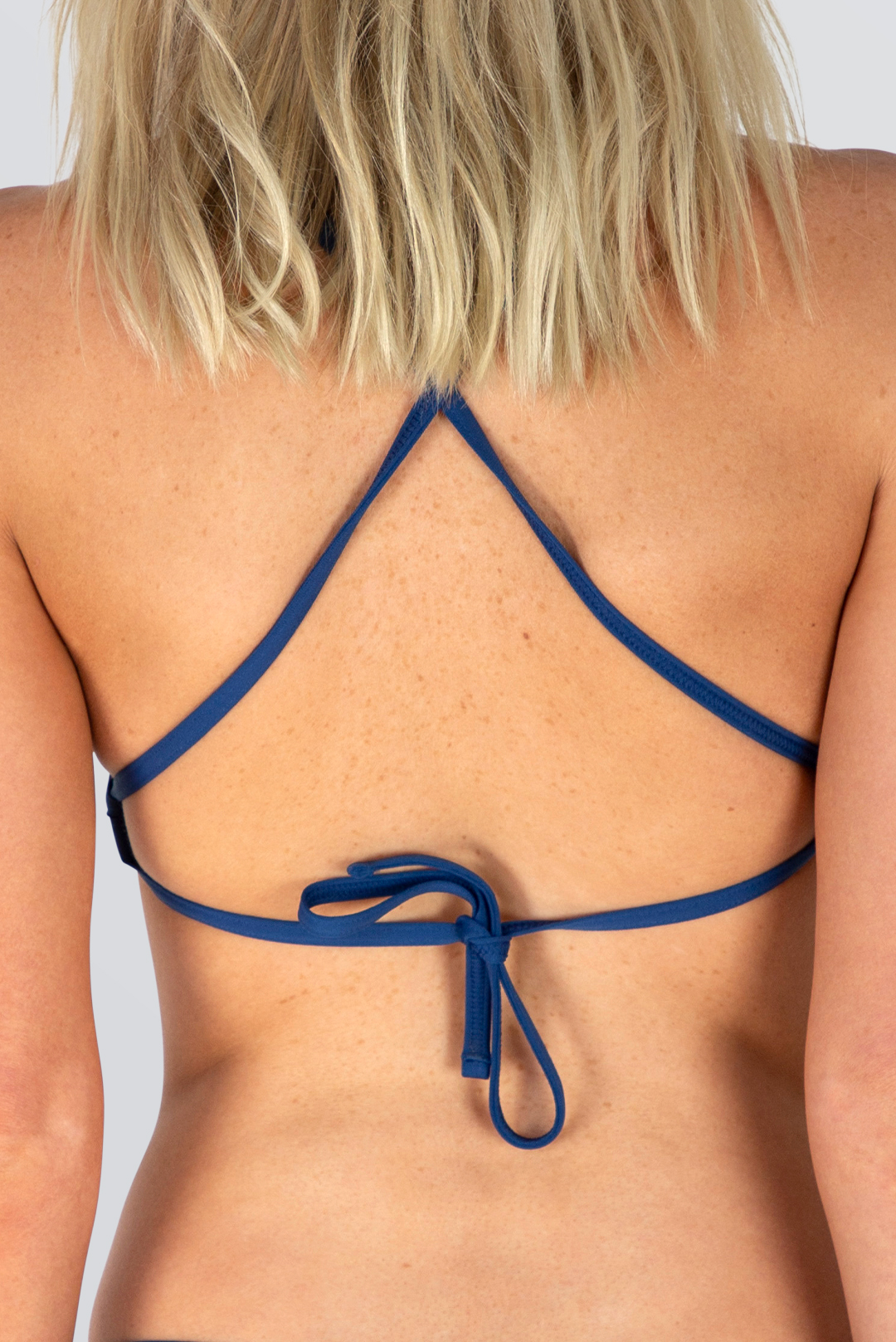 Capri Tie Back Top - Outline - Deep Blue