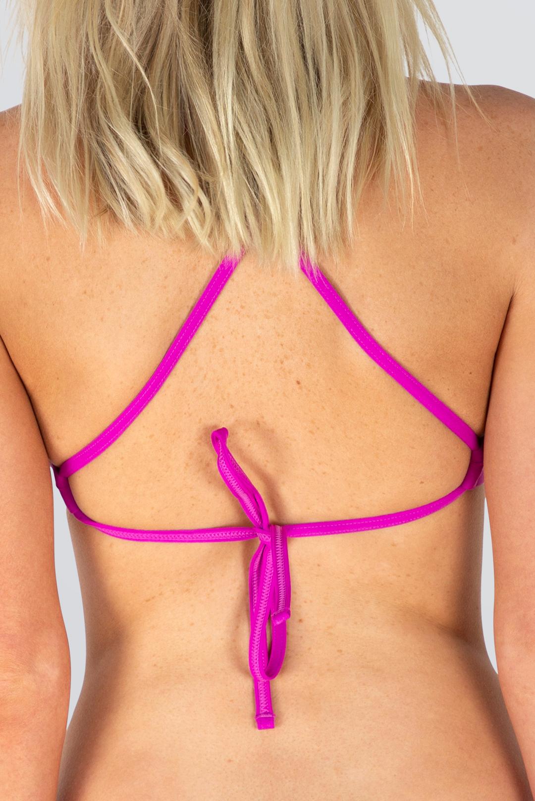 Capri Tie Back Top - Outline - Fuscia