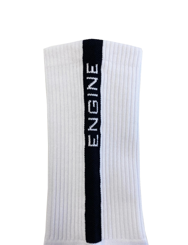 Crew Sport Socks White