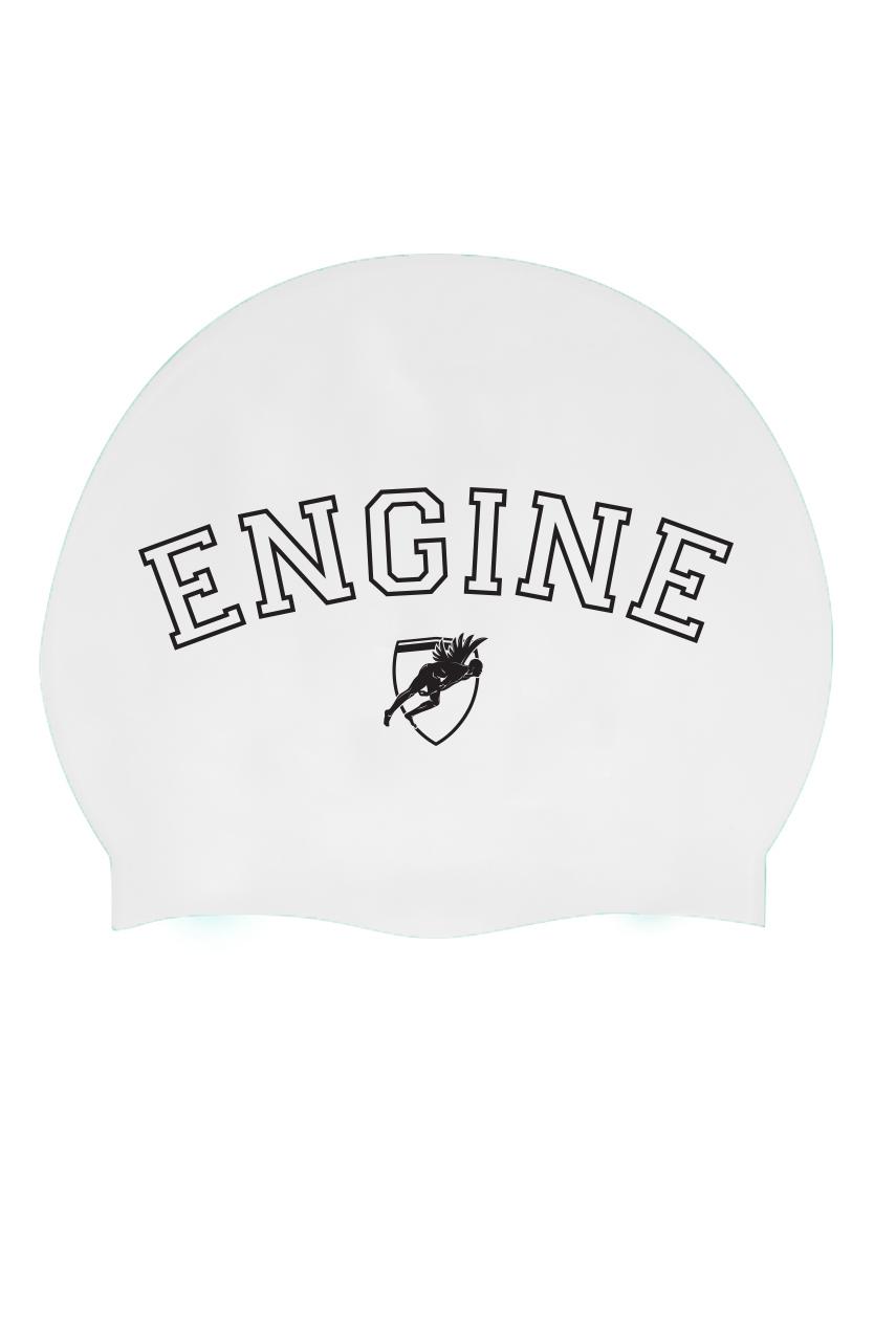 Solid Silicone Cap Varsity - White