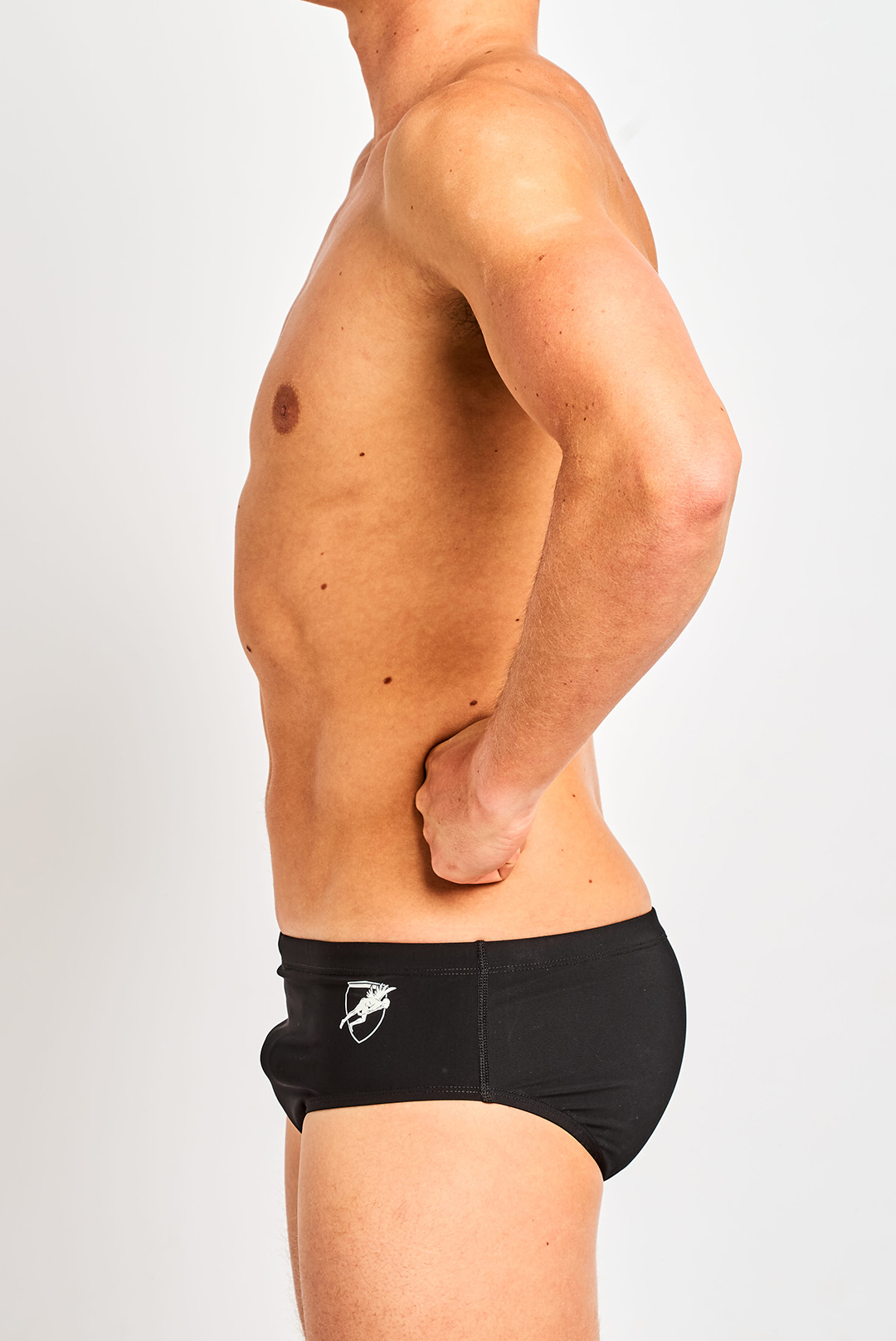 Shredskin Racer Brief - Black