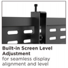 "37""- 70"" Professional Pop-Out Full Service Video Wall Mount (T-VW246)"