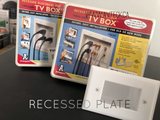 Recessed Plate