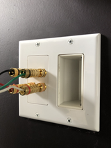 Wall Plate | HDMI | speaker | ethernet
