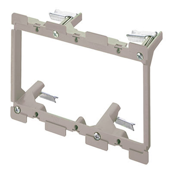 Low Voltage Mounting Brackets 3 Gang (5PCS) (C-AC1010-03-5)