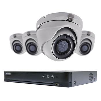 5 MP Value 4 x camera Turbo HD Hikvision Kits T7204U1TA4