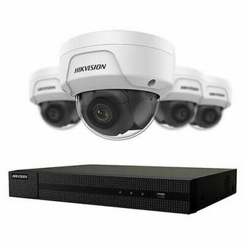 4 MP 4 x Camera NVR Hikvision Package EKI-K41D44