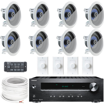 Multi zone amplifier with ceiling speaker System | Canada