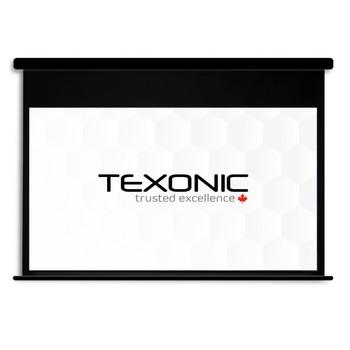 "100"" TEXONIC White Motorized Projector Screen | Black Casing (P-BWX100)"
