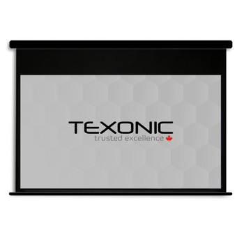 120 inches Motorized Projector Screen Black Housing | Canada