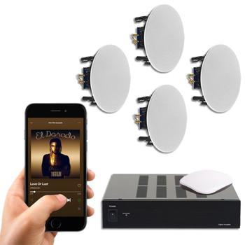 4 Ceiling speaker system | Class D Amplifier