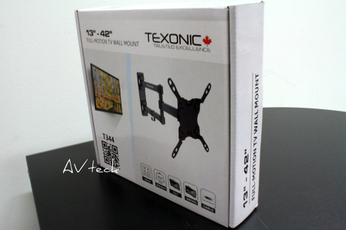 """TV Wall Mount Full Motion 13"""" to 42"""" (T-T344)"""