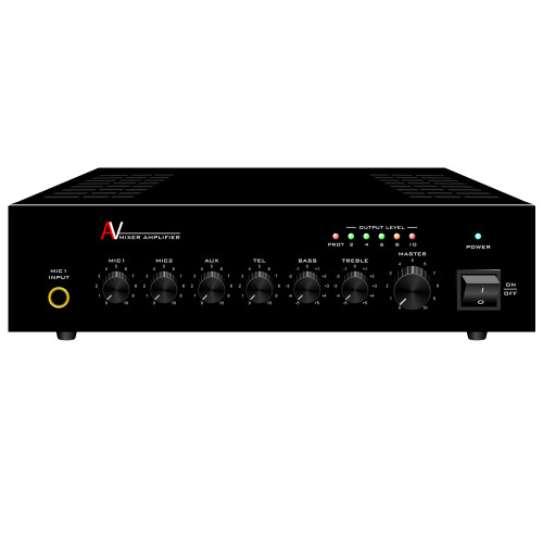 Mixer Power Amplifier 4 Channels (A-40AP)