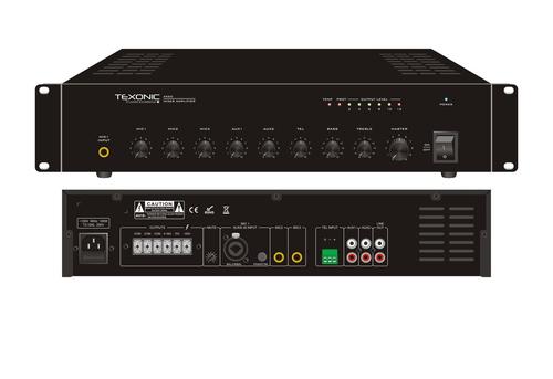 60W Commercial Amplifier | 6 Channels | Canada