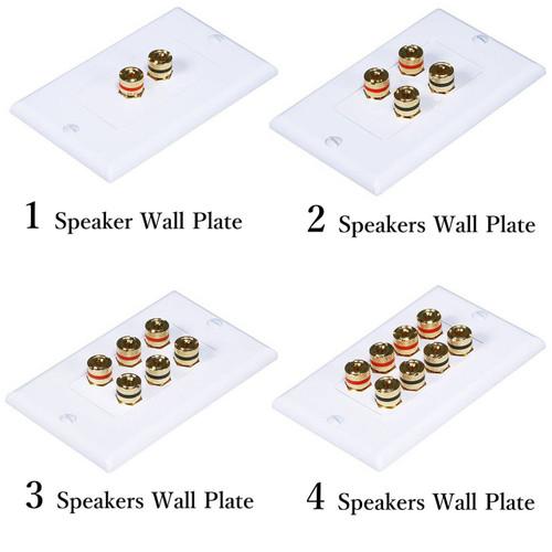 Speaker Wall Plate