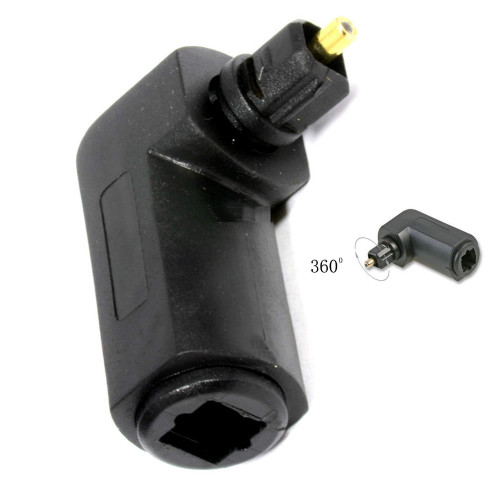 TOSLINK Right-Angle Adapter