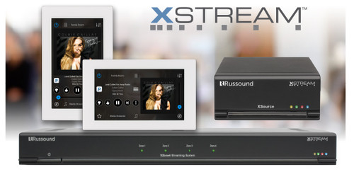 Russound 4 Stream, 4 Zone Audio System (XZone4)