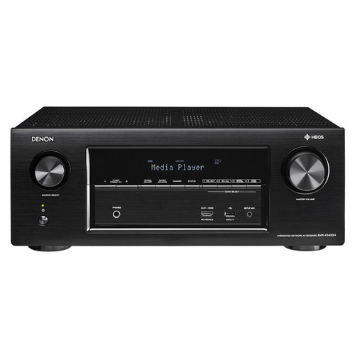 Denon 7.2 Channel 4K Ultra HD Atmos Network AV Receiver (AVRX3400H)