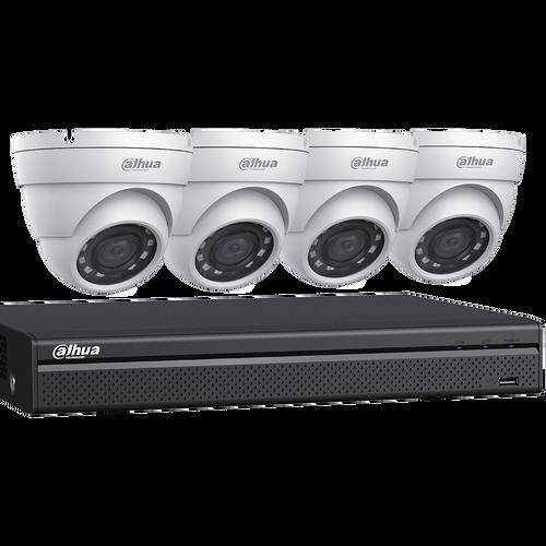 2MP 4CH DVR Bundle w/ 4 x 2MP Eyeball Cameras & 2TB HDD (V-C542E42)
