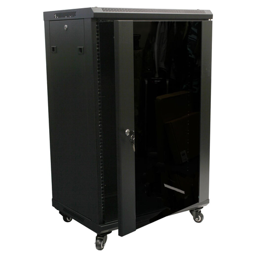 18U Network Server Rack, AV Enclosure (T-UJ6618)
