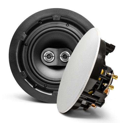 "SyncSound SS-ICS6-DVC 6.5"" Stereo In-Ceiling 80 Watts 8 Ohms Speaker (each)"