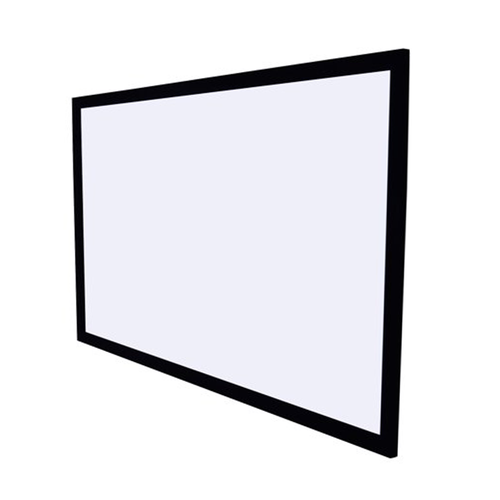"100"" TEXONIC White Fixed Velvet Frame Projector Screen (P-PX100)"