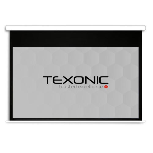 "120"" TEXONIC Grey Motorized Projector Screen + Remote (P-GX120)"