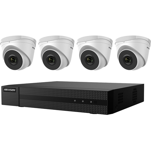 Hikvision 2 MP 4 x Camera Value Express NVR Kits
